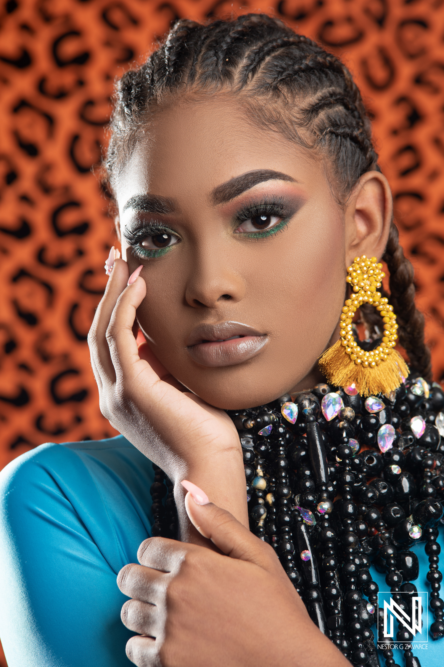 Miss Curacao Teenager 2019 | Face shot - Nestor G Zavarce Photo & Film
